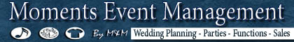 Moments Event Management and Sales